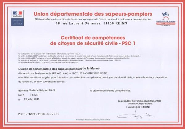 PSC1 Nelly Aupiais